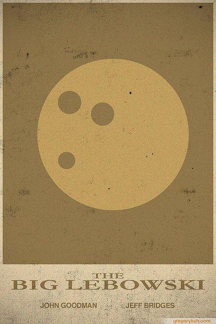 The Big Lebowski #retro #minimalist #movie #poster