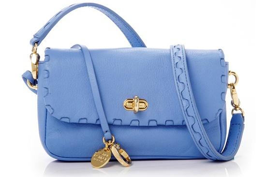 Really digging this unexpected color for handbags