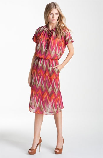 MICHAEL Michael Kors Flutter Sleeve Dress available at Nordstrom