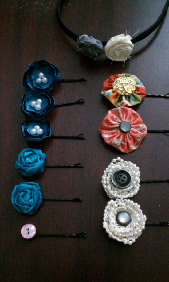 DIY hair accessories - so simple to make!