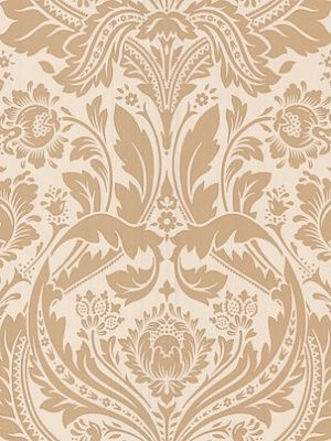 Winfield Thybony Dimitri Damask-Suntan $98.75 per 4 yard roll #interiors #decor #damask