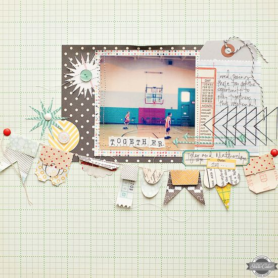 Together {Studio Calico August Kit} - Scrapbook.com