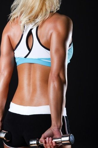 5 Moves to a Stronger Back and Shoulders!! #healthy #fitness #skinnyms #workouts