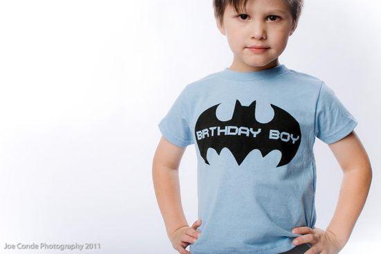 batman birthday boy shirt