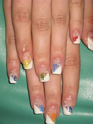 sailor moon nails!!