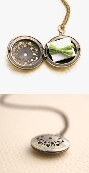 Love note locket