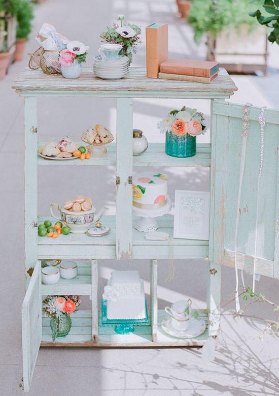 Spring tea party shower ideas