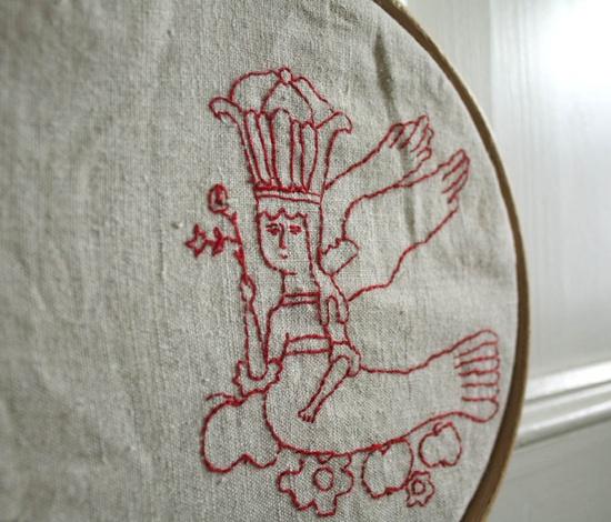 sirin - bird of paradise (detail)