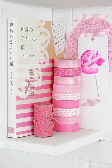 pretty washi tapes