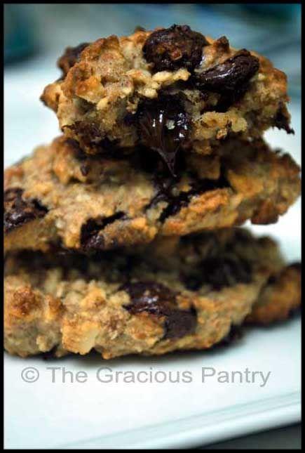 clean eating chocolate chip cookies