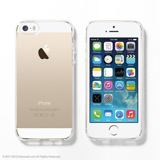 Soft Clear iPhone 5s case iPhone 5s clear case by Decouartshop, $16.99