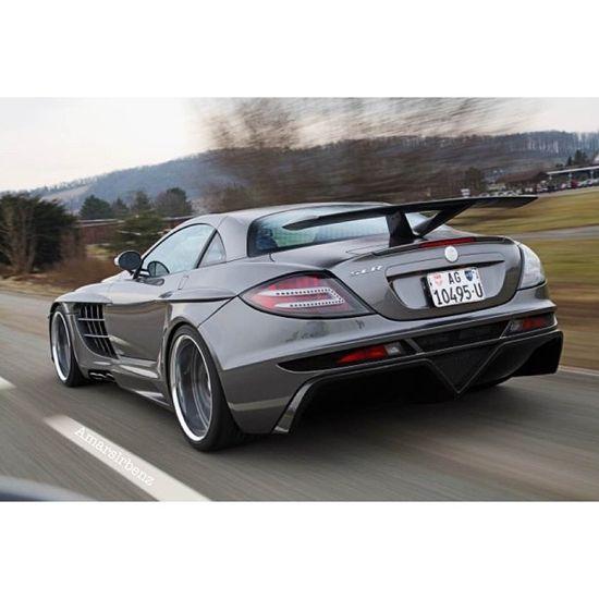 Mercedes Benz SLR McLaren rear shot! Hot stuff!