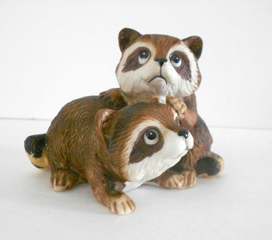 Raccoon HOMCO 1454 Home Interiors Decorative by SarahLyallHome, $12.00