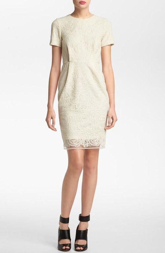 Elegant! Topshop Lace Sheath Dress