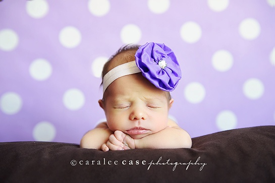 I love newborn pictures!
