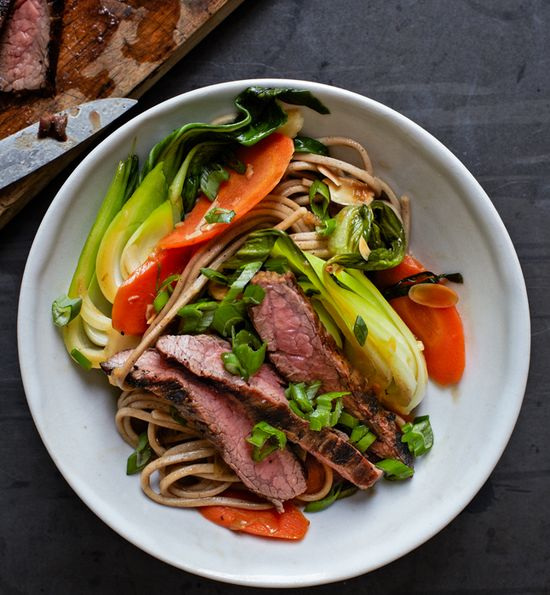 Steak and Soba Stir Fry - WANT
