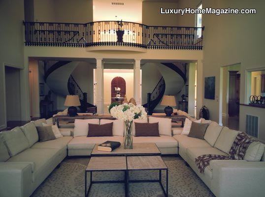 Uniquely Elegant in Mount Airy #luxury #homes #house #design #interior #decor #living #room