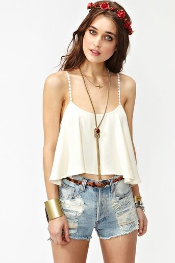 love this cropped tank