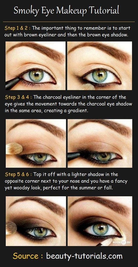 Brow Shadow Eye Makeup Tutorial #makeup #eyeshadow #beauty #eyes