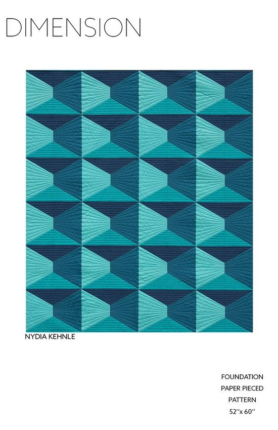 Image of Dimension Quilt Pattern