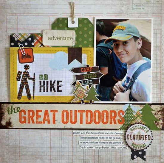 Go Hike *Simple Stories* - Scrapbook.com