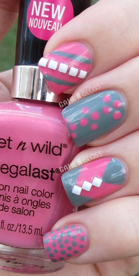 GAME N GLOSS #nail #nails #nailart