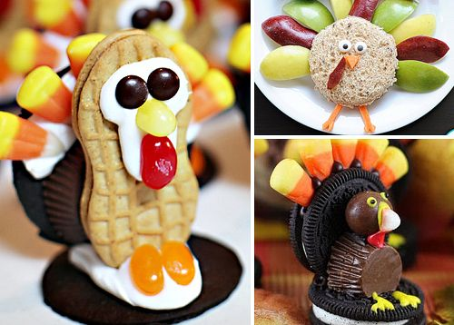 cute food crafts for thanksgiving