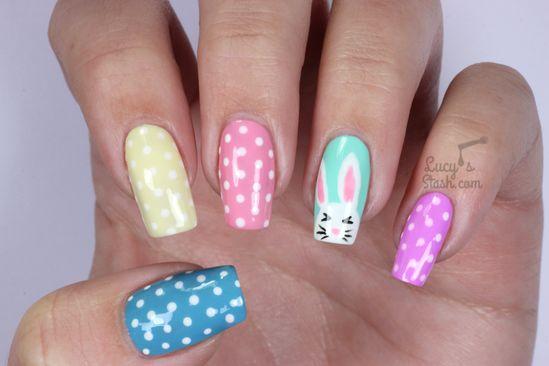Easter Bunny & Polka