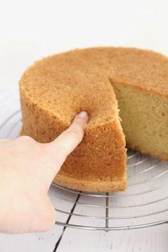 chiffon cake moelleux