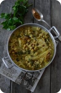 Curry aux Pois-Chich