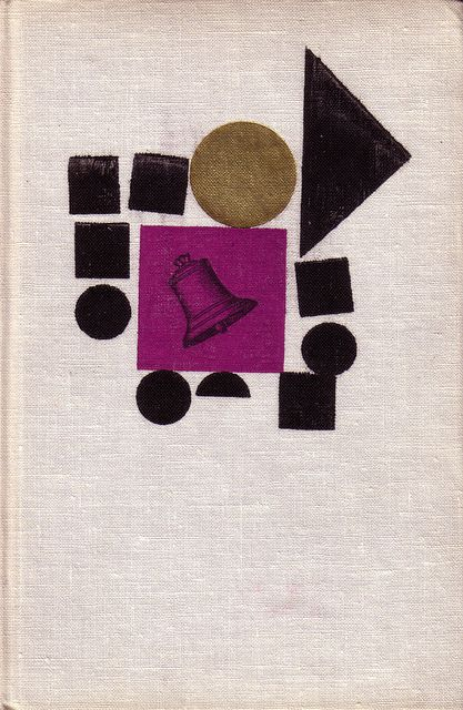 Czechoslovak book cover (1964)  Cover, binding, endpapers, drawings and typography by Zdenek Seydl