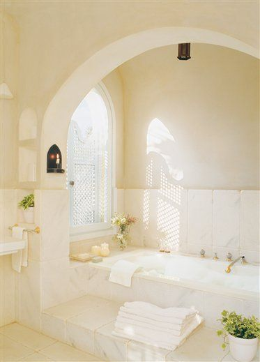 lovely bathroom in Cadiz, Spain