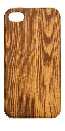 wood grain inspired iPhone 4 case