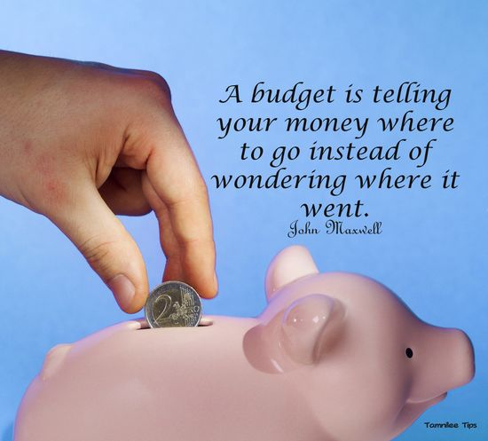 Budget Quote from Dave Ramsey Book