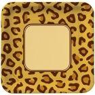Cheetah Lunch Plates (8)