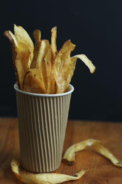 Crispy Potato Skins from The Urban Baker