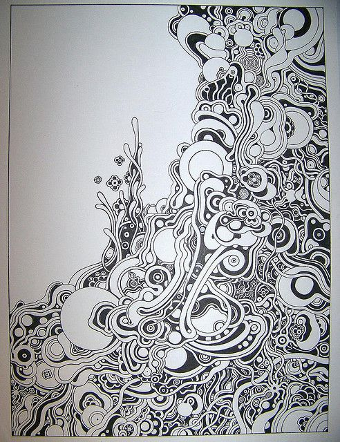 obsessed with swirl/doodle art ?