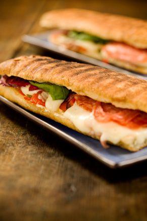 Paula Deen's Panini sandwich