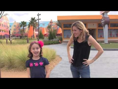 Cars at Disney's Art of Animation Resort. Incredible and favorite place for my kids to stay!
