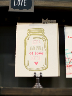 jar full of love card