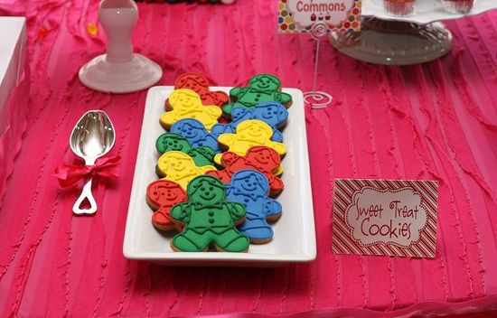 Candy Land party from Couture Celebrations #candyland #party #parties #birthday #rainbow #cookies