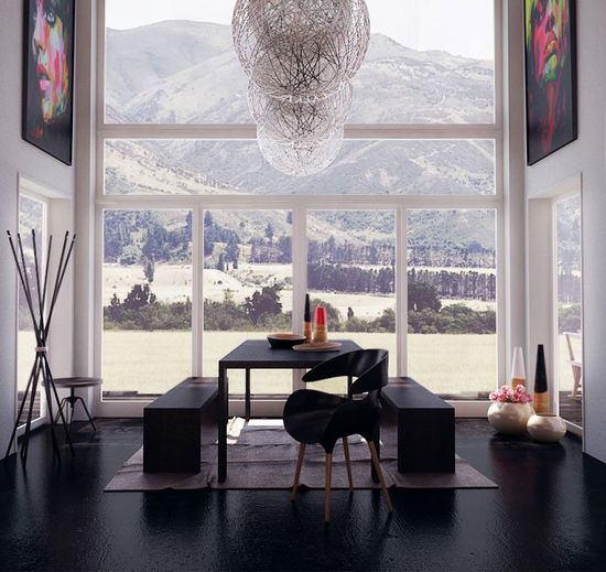 Modern House Designs Elevated: Home Decor Photos: Modern House Design With High Ceiling