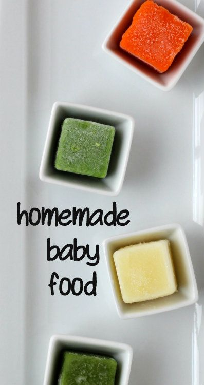 Making Baby Food At Home: A tutorial