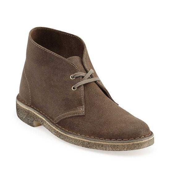 Desert Boot-Women in Taupe Distressed Leather - Womens Boots from Clarks