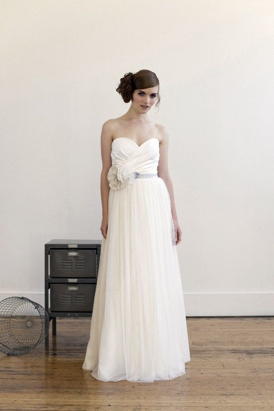 Tempest wedding gown. $1,500.00, via Etsy.