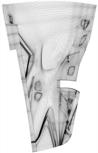 Skate friendly topography #skateboard #design #architecture #plan #layout