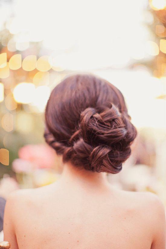elegant bun updo // photo by Alixann Loosle
