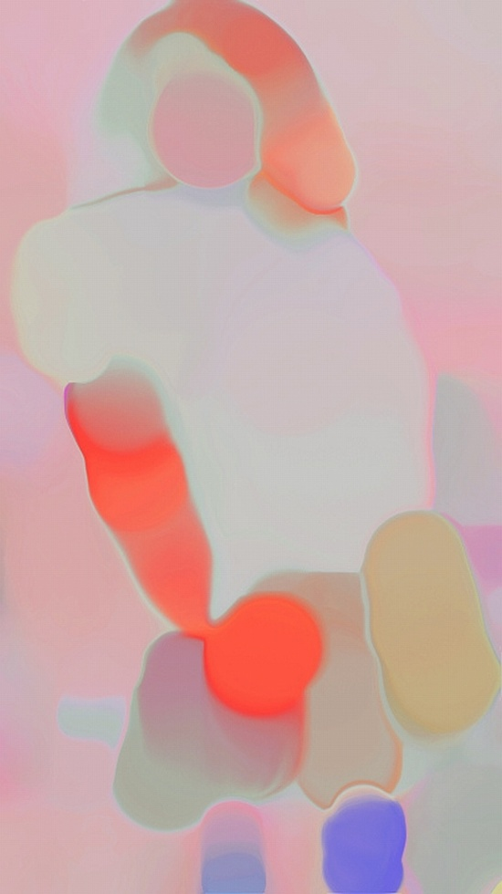 Jennis Li Cheng Tien. Abstract art iridescent