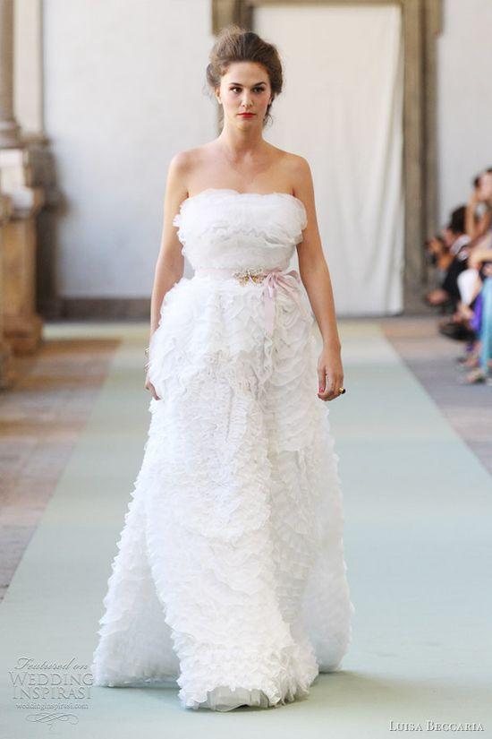 luisa beccaria wedding dresses 2012