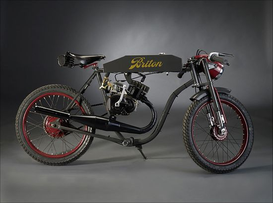 Briton BeesMotocyclettes - Pipeburn - Purveyors of Classic Motorcycles, Cafe Racers & Custom motorbikes